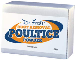 Poultice Powder for Rust Stain Removal