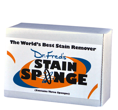 Dr. Fred's Innovative Solutions Stain Sponge